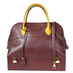 Hermes Bicolor Couchevel Macpherson Handbag
