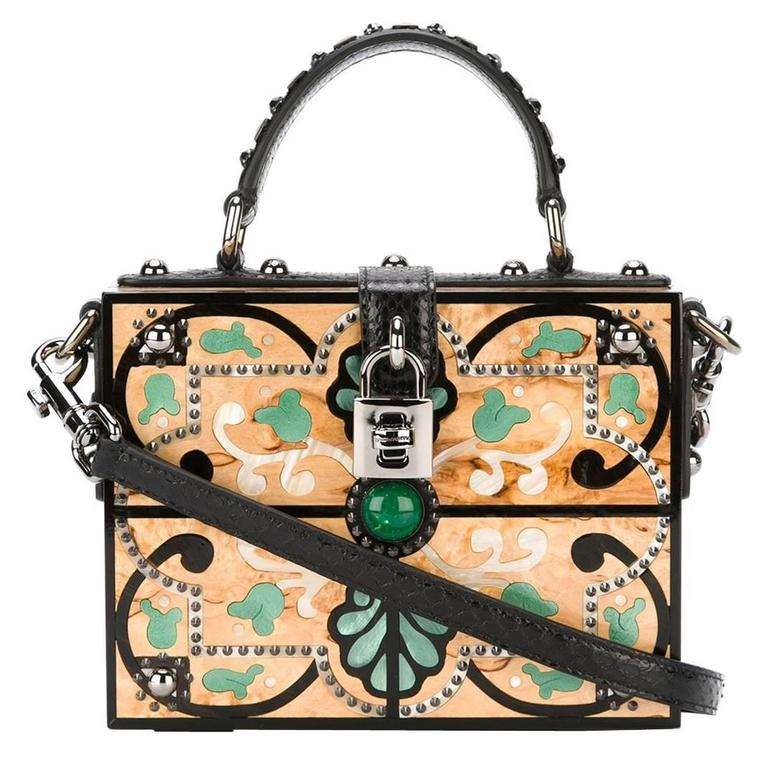 Dolce & Gabbana Structured Crossbody Bag For Sale
