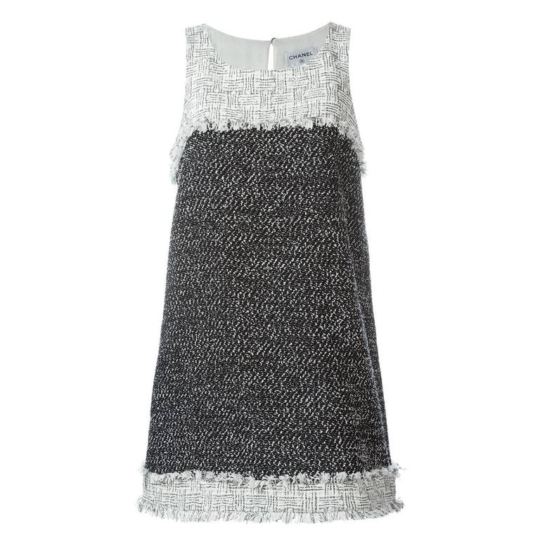 Chanel Bouclé Short Dress 1