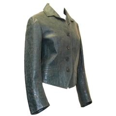 1990s Dries Van Noten Leather Jacket