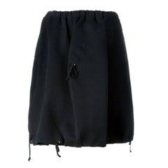 Gorgeous Comme Des Garcons by Rei Kawakubo Black Foam Skirt