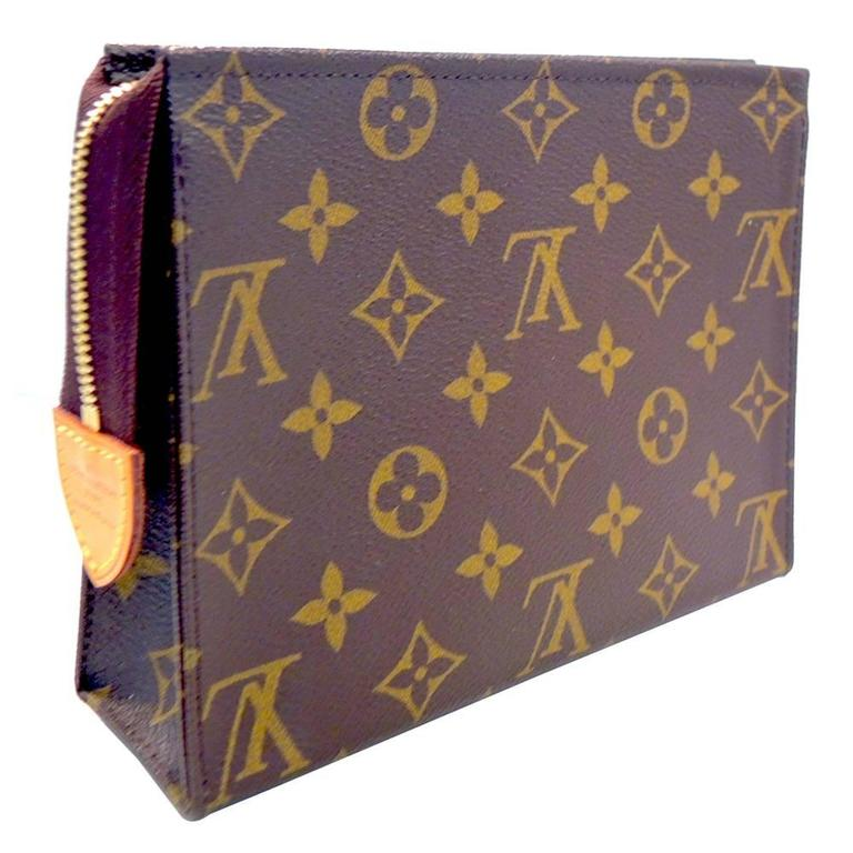 Signed Louis Vuitton Clutch Bag at 1stdibs