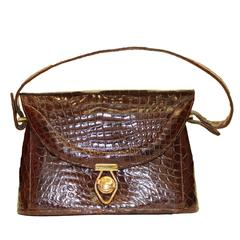 1940s Alligator Purse
