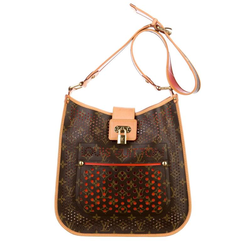 2006 Louis Vuitton Musette Perforated Bag