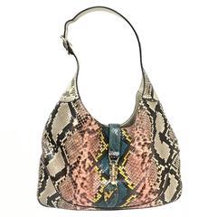 Gucci Jackie Python Las Vegas Bag