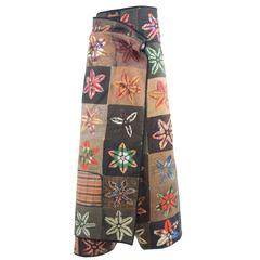 80s Comme des Garçons Wrap-Pant-Skirt