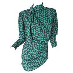 Ungaro Floral Micro Dress