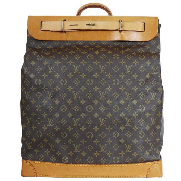 Louis Vuitton Monogram Steamer 45 Travel Bag 1