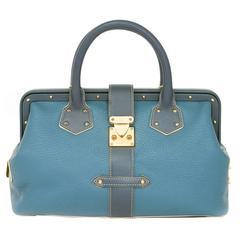 Louis Vuitton Suhali L'ingenieux Bicolor Blue ** AS NEW **