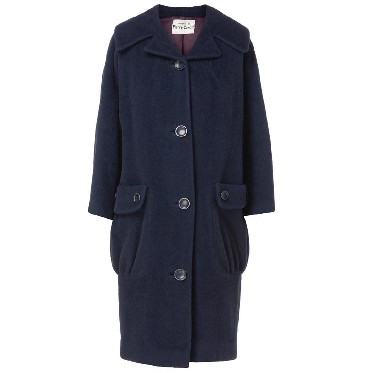 Pierre Cardin navy coat, circa 1959 1