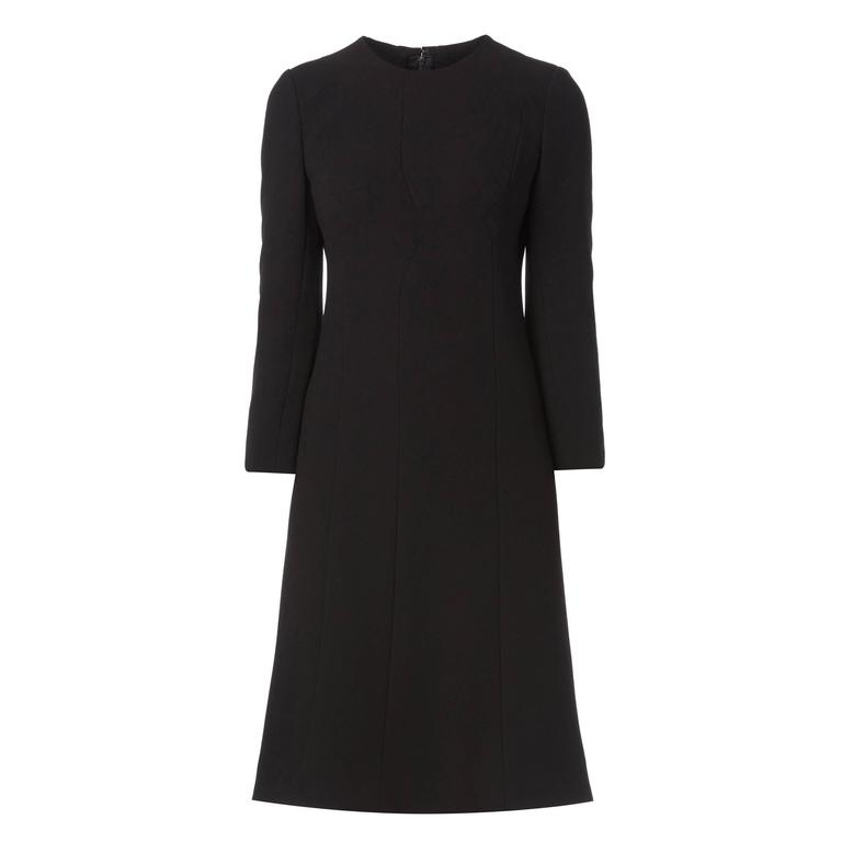 Galanos black dress, circa 1967 1