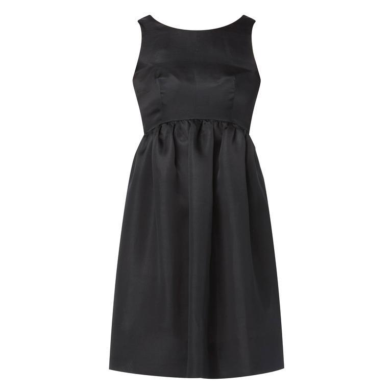 Balenciaga haue couture black dress, Spring/Summer 1967