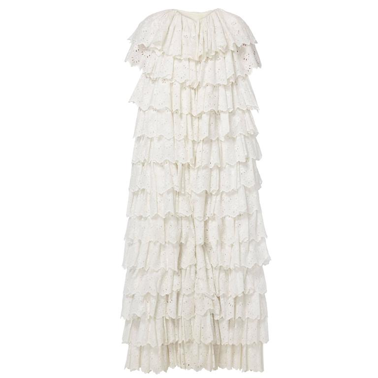 Great Unknown ivory cape, circa 1945