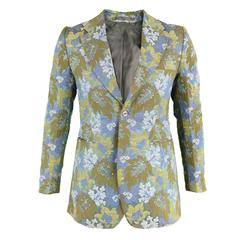 Maggy Rouff Men's Tapestry Brocade Blazer, 1960s