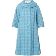 Lilli Ann blue coat, circa 1975