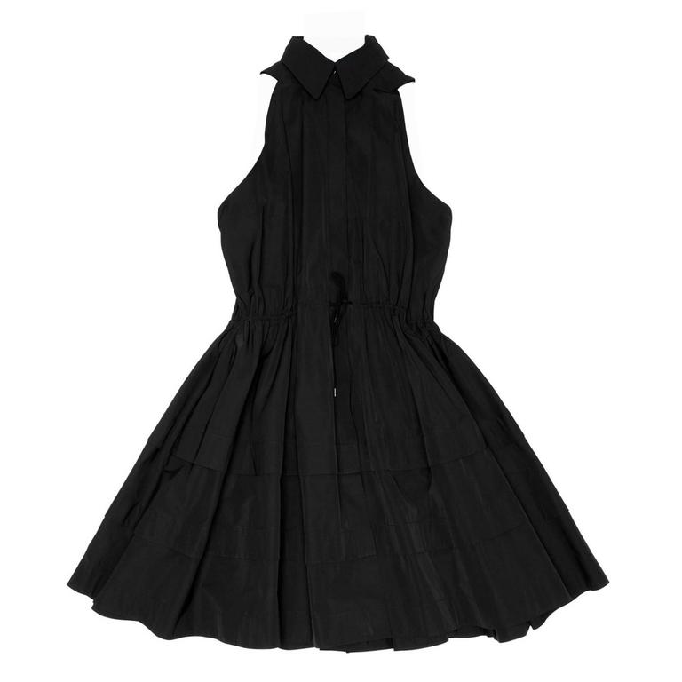 Alaïa Black Cotton Shirt Dress 1