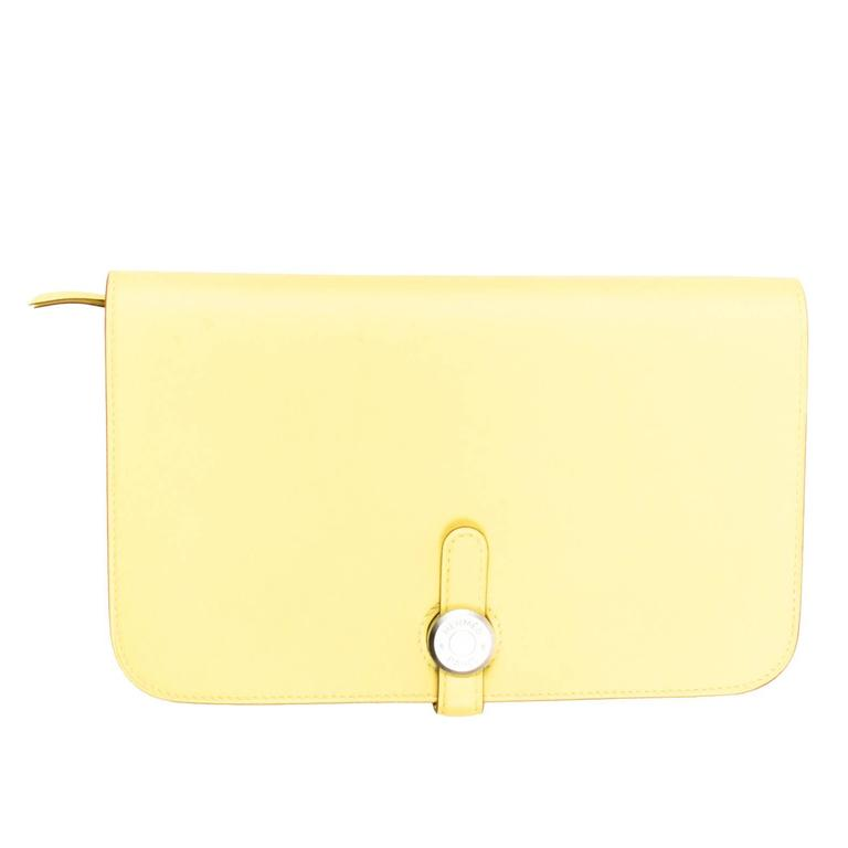hermes kelly wallet yellow - photo #26