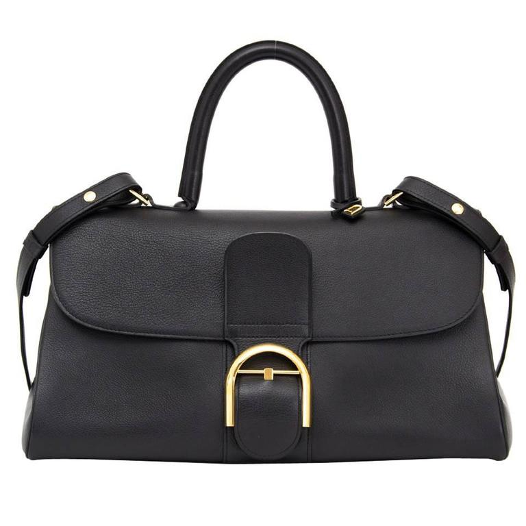 Delvaux Black Brillant East West  1