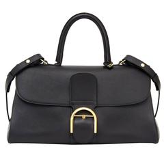 Delvaux Black Brillant East West