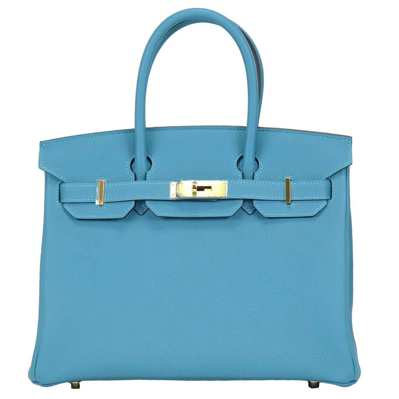 birkin handbags prices - Hermes Handbag Birkin 30 Togo 7B Turquoise Gold Hardware 2016. at ...