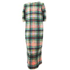 Junya Watanabe AD 1999 Runway Mohair Dress