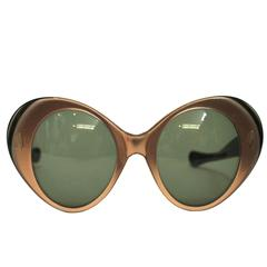 1960s Metallic-Rimmed Sunglasses