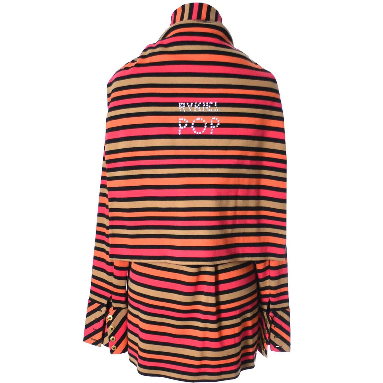 Vintage Sonia Rykiel 2 Pc Cotton Top And 1 Sweater Pop Rhinestones Medium For Sale At 1stdibs