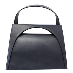 "JW Anderson Blue Leather ""Moon"" Bag"