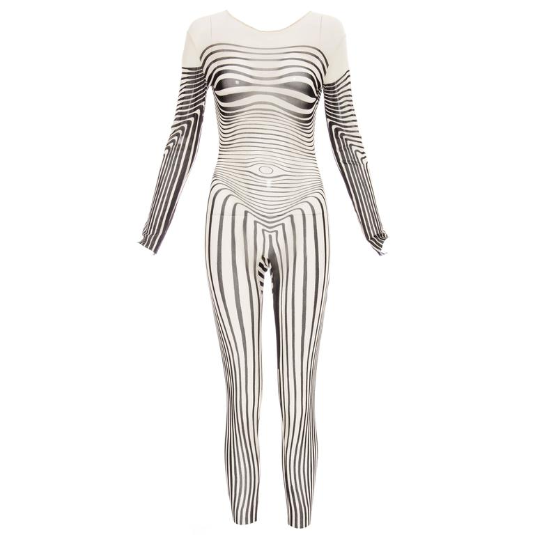 Jean Paul Gaultier Stretch Jersey Bodysuit, Spring - Summer 1996 1