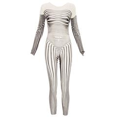 Jean Paul Gaultier Stretch Jersey Bodysuit, Spring - Summer 1996