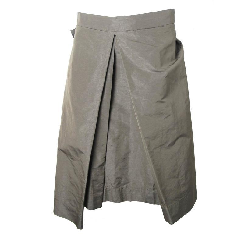 Vivienne Westwood Anglomania Pleated Skirt