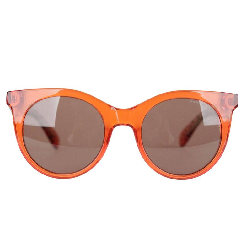 MARC by MARC JACOBS Eyewear MMJ 412/S 6HM UT Orange SUNGLASSES w/ CASE 1