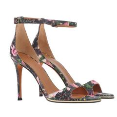 Givenchy NEW and SOLD OUT Multi Color Leather High Heels Sandals in Box