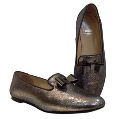 Moschino Glitter Shoes Loafer