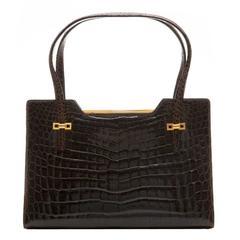 Gucci Vintage Crocodile Bag