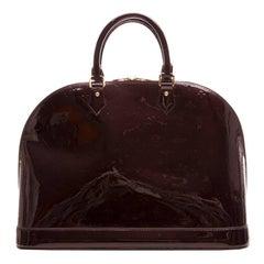 Louis Vuitton Amarante Vernis Alma