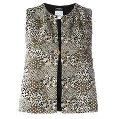 Chanel Jacquard Waistcoat