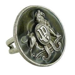 Jean Paul Gaultier Vintage 1990s Enamel Lion Ring