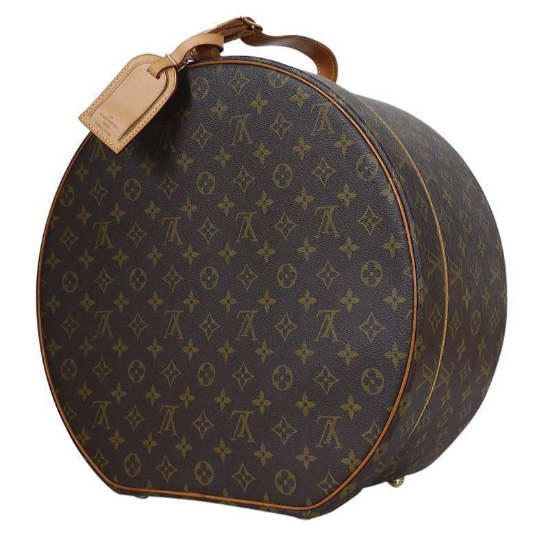 3bedccb000bb Louis Vuitton Monogram Boite Chapeaux Hat Box 40 at 1stdibs