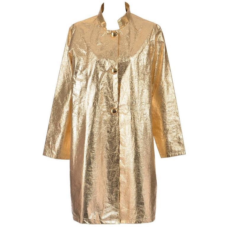 Late 1950s Gold Foil Coat