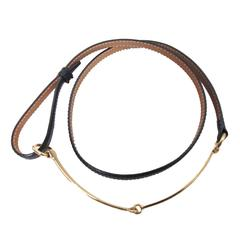Gucci Skinny Horse Bit Belt
