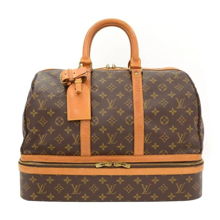 Vintage Louis Vuitton Sac Sport Monogram Canvas SoftSide Travel ...