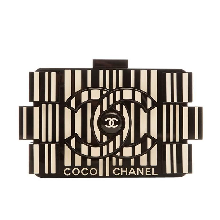 Chanel Runway Op-art Lego Boy Bag 1
