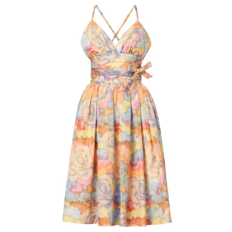 Norman Norell Multicoloured dress, circa 1965