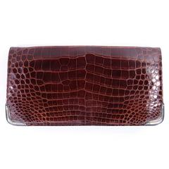 Ralph Lauren Crocodile Clutch
