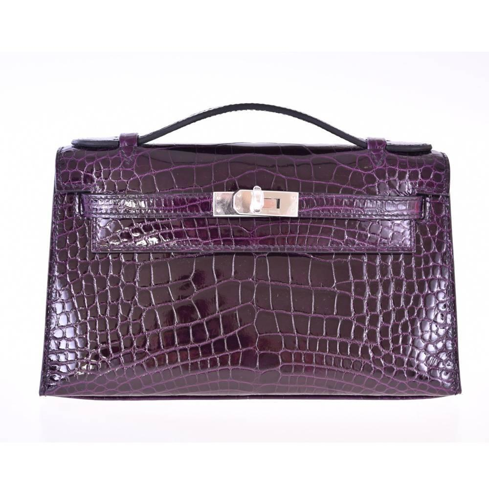 bags that look like hermes birkin - Vintage clutches For Sale in New York City - 1stdibs