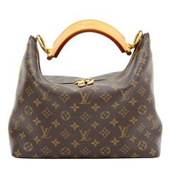 Louis Vuitton Sully PM Monogram Canvas Handbag