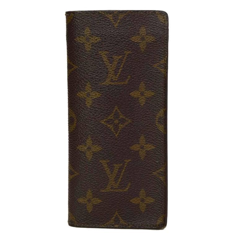 wholesale dealer 4a6b2 dee8c Louis Vuitton Monogram Open-top Eyeglass Case