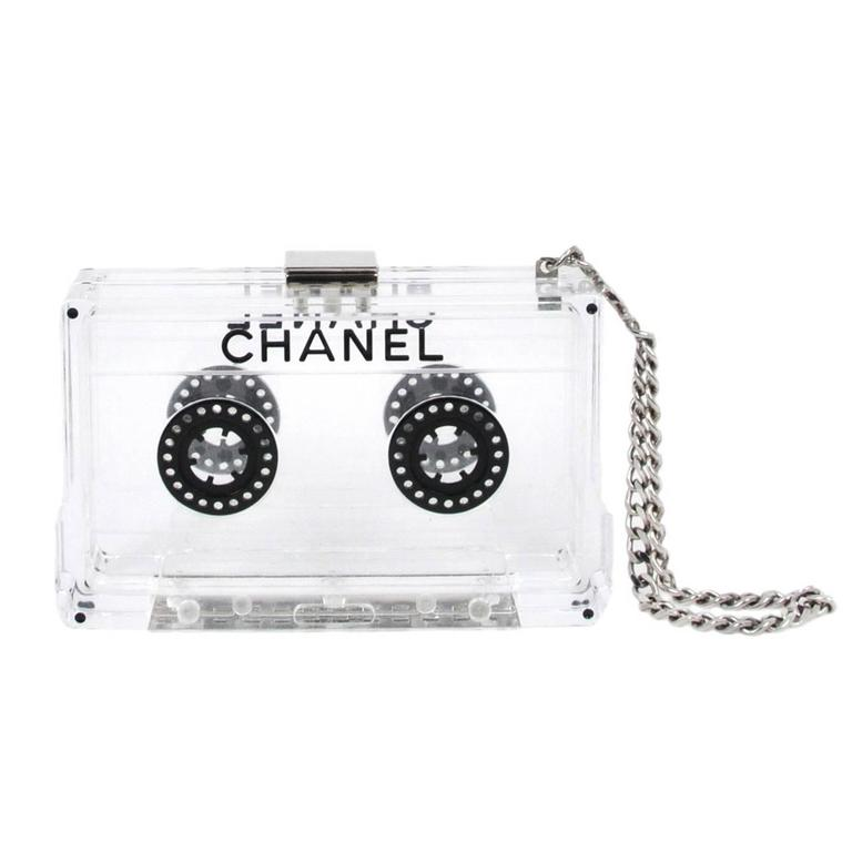 Chanel Clear Cassette Clutch 2004 1