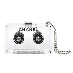 Chanel Clear Cassette Clutch 2004